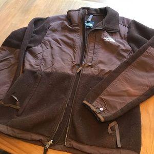 Brown Denali North Face Fleece Jacket